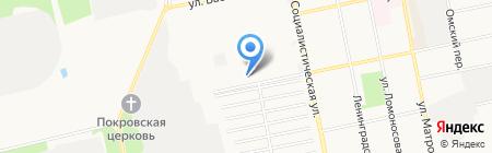 Прайд-А на карте Бийска