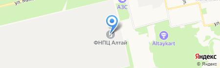 Мобиле на карте Бийска
