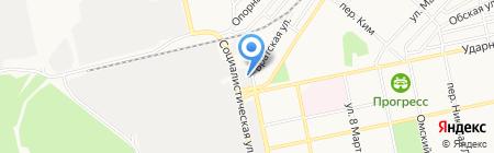 МодаС на карте Бийска
