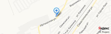 СтройПластКомплект-Бийск на карте Бийска