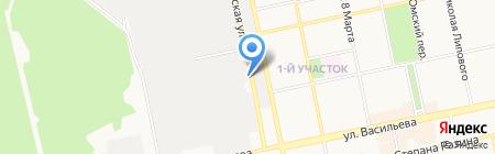 Метиз Центр на карте Бийска