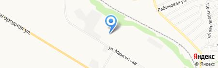 Алтайская крупа на карте Бийска