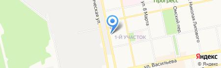 Обучайка на карте Бийска
