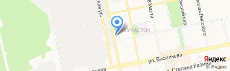 Единый информационный расчетно-кассовый центр г. Бийска на карте Бийска