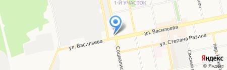 Екатерина на карте Бийска