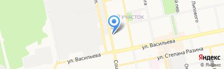 Бийский бизнес-инкубатор на карте Бийска