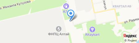 АЛТЭЯ на карте Бийска