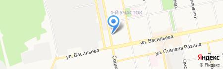 Инвестстрах на карте Бийска
