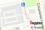 Схема проезда до компании Гаражно-строительный кооператив №1 в Бийске