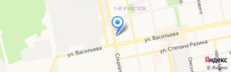 Главучснаб на карте Бийска