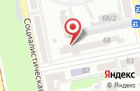 Схема проезда до компании Фирма Хризантема в Бийске