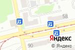 Схема проезда до компании Сантех для Всех в Бийске