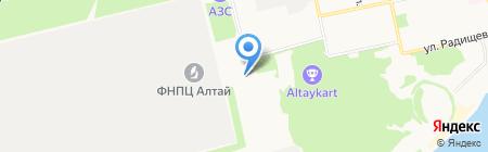 МОТОР на карте Бийска