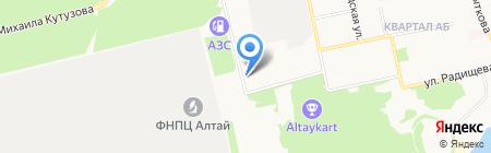 Автотранс на карте Бийска