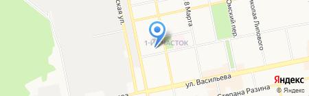 PARTPLUS54 на карте Бийска