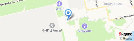 Былина на карте Бийска
