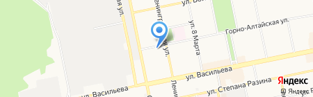 Станция юных техников на карте Бийска