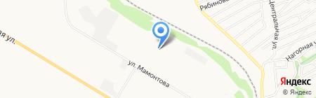 Аралин на карте Бийска