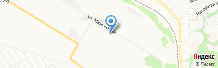 Сельхозтехника на карте Бийска