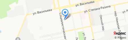 Интерьер-Центр на карте Бийска