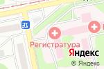 Схема проезда до компании Городская больница №2 в Бийске