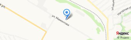 РЭС на карте Бийска