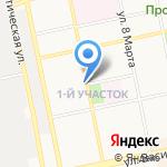 Магазин зоотоваров на карте Бийска