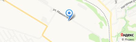 Камаз на карте Бийска