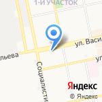 Liga GSM на карте Бийска