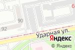 Схема проезда до компании Луч в Бийске