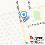 Корзинка Михайловых-5 на карте Бийска
