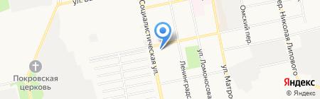 Гараж на карте Бийска