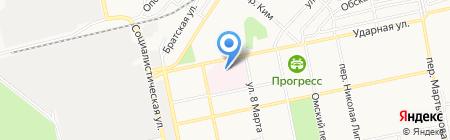 Аптека №113 на карте Бийска