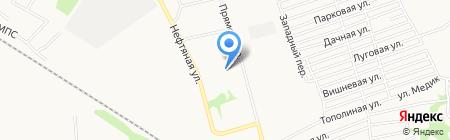 ДПД на карте Бийска