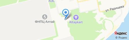 Кристалл-М на карте Бийска