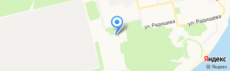 Форт на карте Бийска