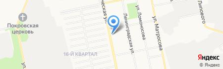 Экспресс-курьер на карте Бийска