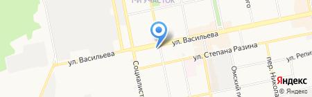 Подари! на карте Бийска