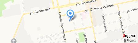 Детский сад №65 на карте Бийска