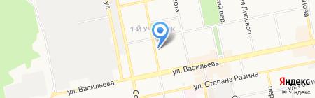 Вояж-Тур на карте Бийска