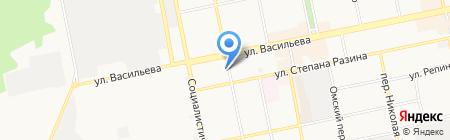 Огонек на карте Бийска