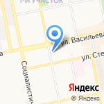 Максим на карте Бийска