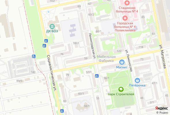 жилой комплекс ул. Ленинградская, 59