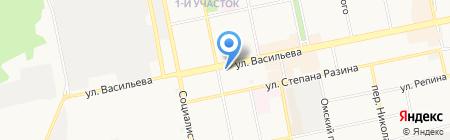 Фаворит на карте Бийска