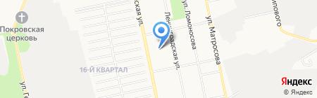 Евгения на карте Бийска