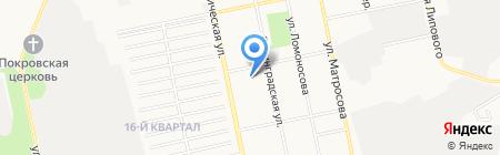 Центр тонирования автостекол на карте Бийска