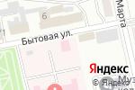 Схема проезда до компании Бийский территориальный отдел Краевого бюро судебно-медицинской экспертизы в Бийске