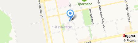 Салон ритуальных услуг на карте Бийска