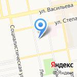 Бийское охранное предприятие на карте Бийска