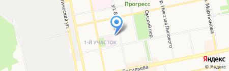 Военно-мемориальная компания на карте Бийска